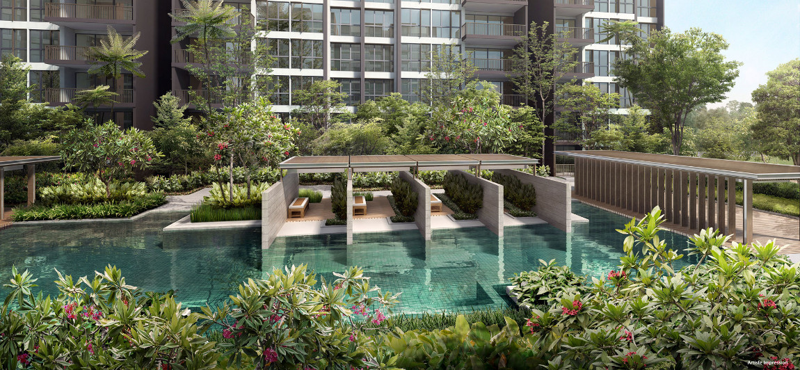 Bellewoods EC by Qingjian . Developer for the Inz Residence EC Singapore