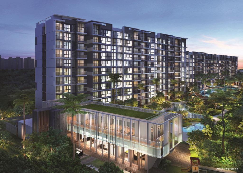 Visionaire EC by Qingjian . Developer for Inz Residence Singapore