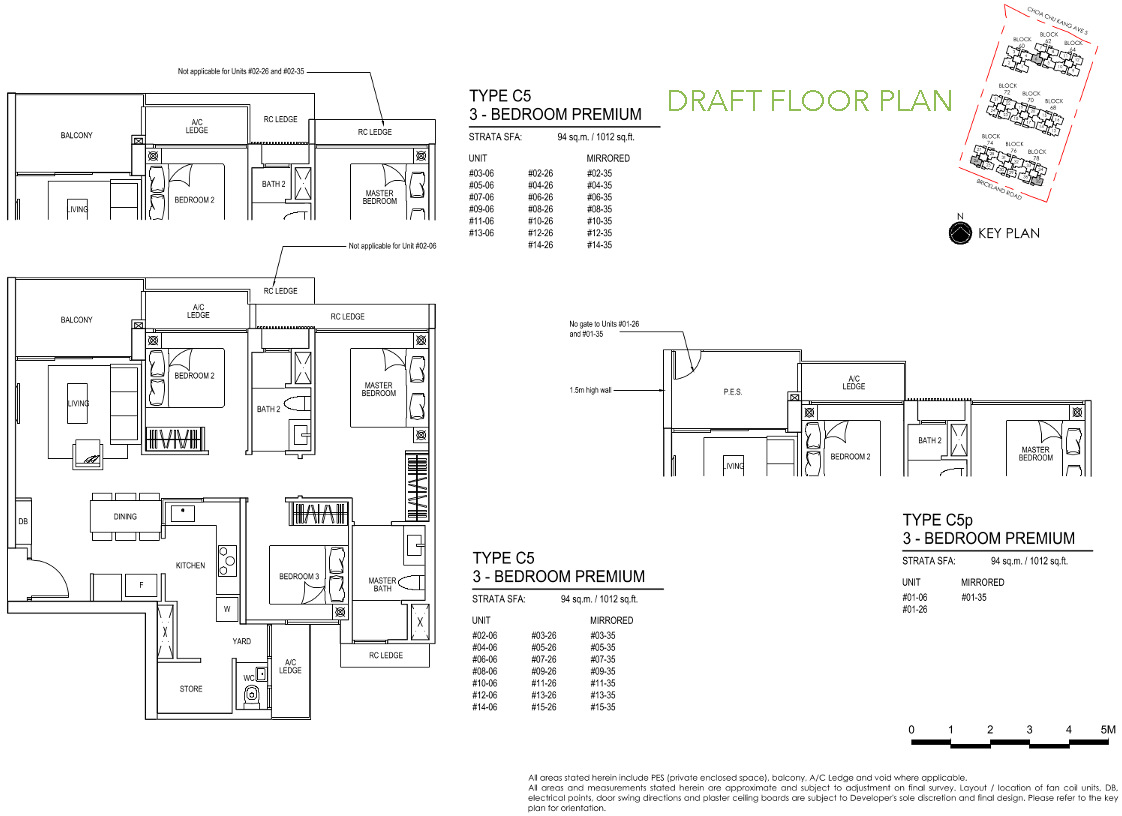 iNz EC Floor Plan 3 Bedroom Premium C5 DRAFT
