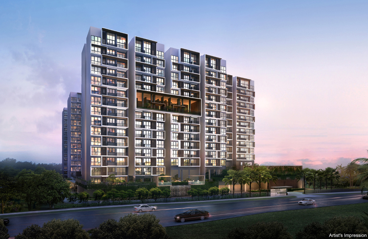 iNz Residence EC from Choa Chu Kang Avenue 5