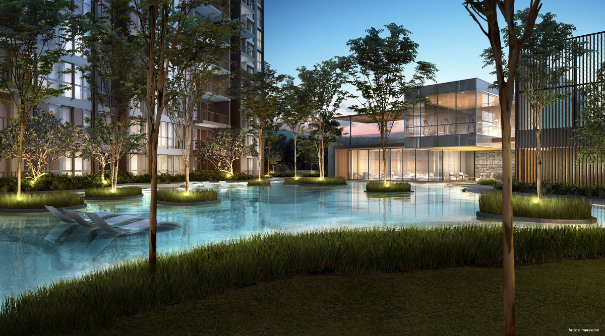 Bellewoods EC by Qingjian . Developer for Inz Residence Launch