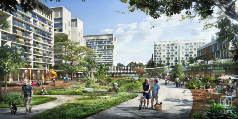 iNz Residences EC . Tengah Community Farms & Cycling Paths
