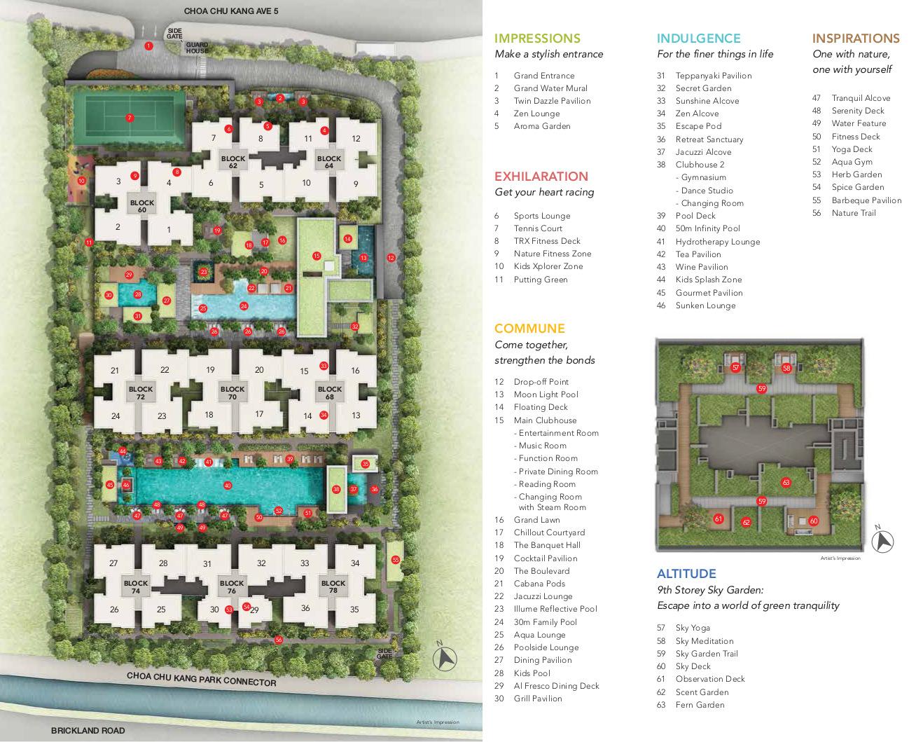 iNz Residence Site Plan
