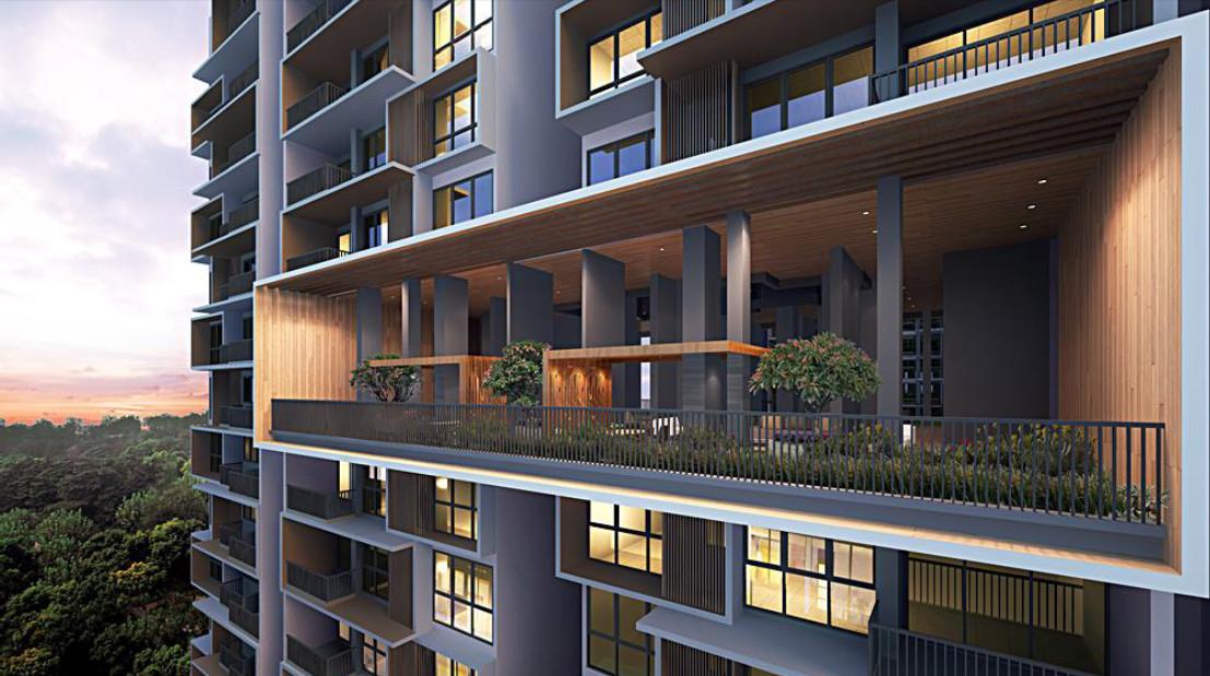 iNz Residence EC Site Plan :: Sky Terrace